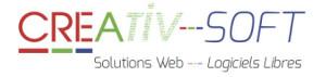 Creativ-Soft - Création de site internet - Communication Web