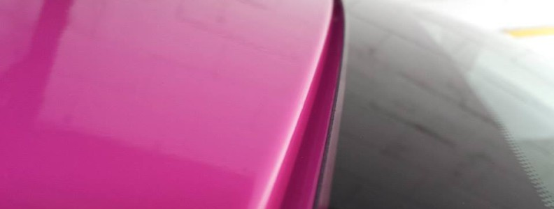 Citroën C3 Covering partiel rose brillant - www.crea-covering.com